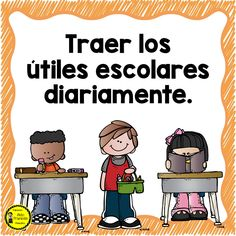 Maravillosos diseños de normas de convivencia escolar para el aprendizaje y el orden grupal | Educación Primaria Elementary Spanish, Teaching Spanish, Elementary Schools, First Day Of School, Back To School, English Activities, Good Student, Classroom Rules, School Decorations