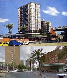 Av. Mannou 1971 y 2015