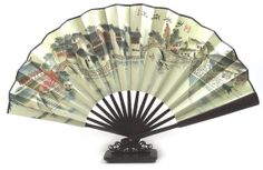 chinese fans hand painted fan china paper folding fan by Bloobling, $19.00  Perfect for home decoration