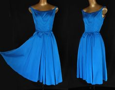 Vintage 50s Cocktail Party Dress by Emma Domb