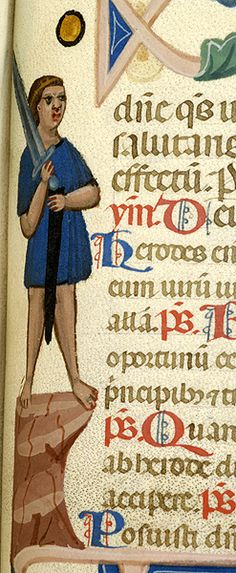 Breviary, MS M.0373 fol. 274r - Images from Medieval and Renaissance Manuscripts - The Morgan Library & Museum