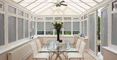 Expert advice to help you choose blinds for your conservatory. Learn about the different types of conservatory blinds available. Conservatory Roof Blinds, Conservatory House, Conservatory Interiors, Conservatory Ideas, House Blinds, Blinds For Windows, Window Blinds, Exterior Design, Interior And Exterior