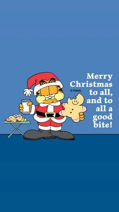 Garfield... Merry Christmas to All...