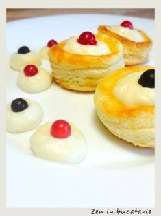 Aluat foietaj - aluat frantuzesc - ZEN IN BUCATARIE Pancakes, Cheesecake, Deserts, Veggies, Cooking, Breakfast, Food, Kuchen, Kitchen