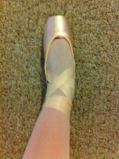 How to Tie Your Pointe Shoes Professionally