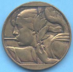 Delannoy art medal