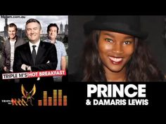 Prince's New Girlfirend Damaris Lewis Wakes Up PRINCE For Rare Live Interview! - YouTube