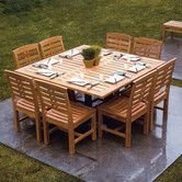 Found it at Wayfair - Mandalay 9 Piece Dining Set