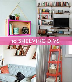 DIY Shelving Projects