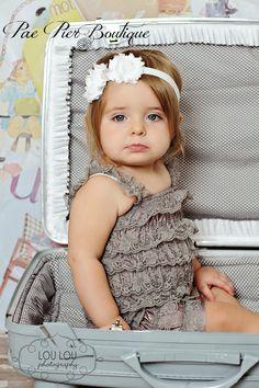 Baby girl headband, toddler headband, newborn headband, girl headband  NEWBORN-ADULT SIZES  www.paepierboutique.etsy.com  www.facebook.com/PaePierBoutique