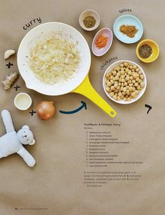 Sweet Paul - KIDS 2013 - cauliflower & chickpea curry