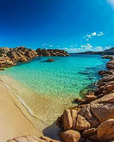 Cala Coticcio Sardegna ❤❤❤ You could go to the same beach as everyone else OR you could go to an https://www.exquisitecoasts.com/ beach. You choose!