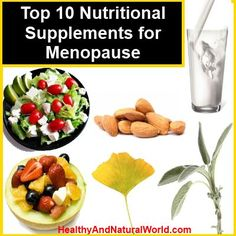 supplements for menopause