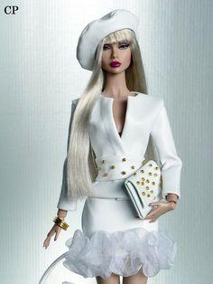 Barbie Paper Dolls, Doll Clothes Barbie, Vintage Barbie Dolls, Fashion Royalty Dolls, Fashion Dolls, Fashion Outfits, Barbie Top, Glamour Dolls, Beautiful Barbie Dolls