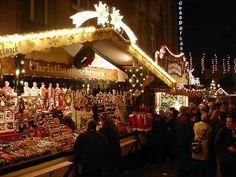 De Lamberti kerstmarkt in Oldenburg, Oldenburg, Duitsland