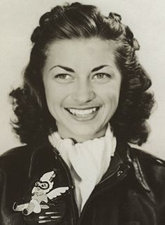"""01 Jun 41: Famous American aviator and test pilot Mildred """"Micky"""" Tuttle marries David Axton, taking her husband's last name. One of the first 3 WASPs (Women AirForce Service Pilots)  trained as a test pilot, she was the first woman to fly a B-29. She passed away at age 91 in 2010. At her funeral, the Kansas Air National Guard gave her full military honors with an all-woman Honor Guard - a first - done to honor Micky Axton and the WASPs. More: http://scanningwwii.com/a?d=0601&s=410601"""