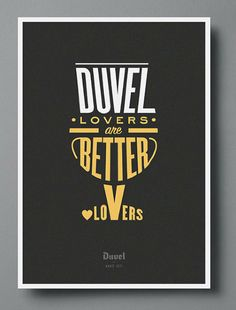 BEER BRANDING / Duvel Lovers are Better Lovers
