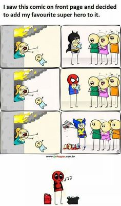 The one with Wolverine shouldn't be THIS funny... xDD