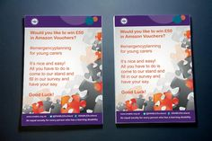 EMERGENCY PLANNER GIVEAWAY – Print-out mock-up flyers for ENABLE Scotland's Emergency Planner's Prize Giveaway.