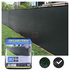 (Sponsored Link) FenceScreen x Black Fence Privacy Screen - Extreme x Mesh Fencing, Fence Screening, Black Fence, Diy Canvas, Cover, Iron, Outdoors, Amazon, Link