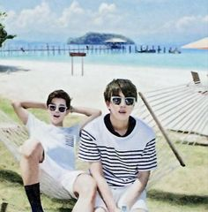 Jimin and Jin- BTS SUMMER PACKAGE 2015