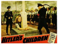 """Hitler's Children"" was a 1943 American black-and-white propaganda film made by RKO Radio Pictures. It was directed by Edward Dmytryk and Irving Reis from an adaptation by Emmet Lavery of Gregor Ziemers book, ""Education For Death."" One of the most financially successful films of RKO Studios, the film is also known for its brutal, graphic overview of the Hitler Youth."