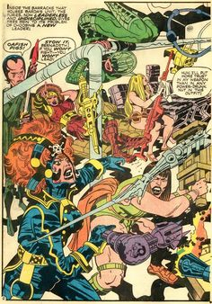 Mr. Miracle #8 Comic Book Pages, Comic Book Artists, Comic Artist, Comic Books Art, Female Furies, Jack Kirby Art, Jack King, Thor, Graphic Novels