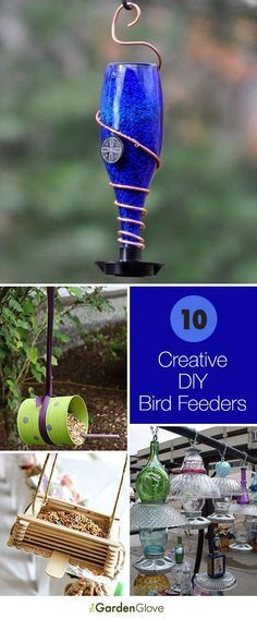 I love songbirds, and I have several feeders in my yard. But I get bored with the same old stuff you find at the box stores… I love the idea of making your own bird feeders because it's an easy pr...
