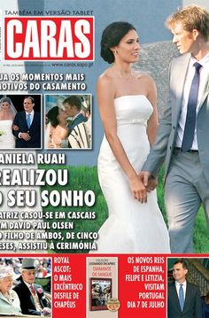 Daniela Ruah gets married in Portugal