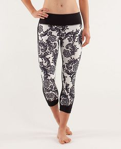 Lustrous Crop from Lululemon. I want these more than anything i've ever wanted before. too cute