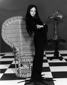 Carolyn Jones (April 28, 1930 - August 3, 1983) as Morticia Addams.