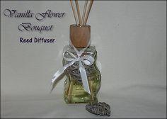Vanilla Flower Bouquet Reed Diffuser