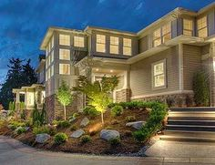 Plan W23482JD: Northwest, Premium Collection, Contemporary, Photo Gallery, Luxury House Plans & Home Designs--beautiful!