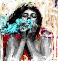 Kunstneren Natmir Lura Exhale
