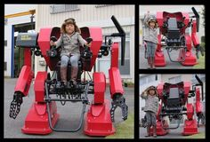 Kid's Walker offers Mech Warrior experience for tiny tots