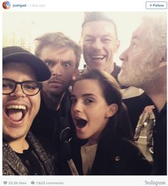 Beauty and the Beast cast - aren´t they lovely?