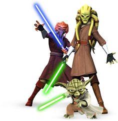 Jedi - The Clone Wars