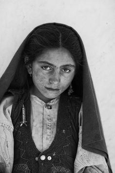 Portrait of an Afghan Girl by Ruben Terlou