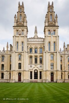 Ivory Towers, Oxford, England.