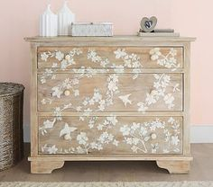 Bone Inlay Dresser #pbkids
