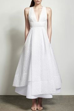 Preorder Candice Tulle Lace White Dress. by Alex Perry / PRECOUTURE.COM - The 1st European website allowing you to preorder the looks straight from the runway. Buy your look now