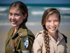 FROM MUSLIM SCHOOL TO IDF : Fatima and Zukra were born 19 years ago in Uzbekistan and attended a Muslim school. When they learned of their father's Jewish roots, they began their extraordinary journey, making aliyah with their families and converting to Judaism. Today they serve the IDF and are no longer Fatima and Zukra – but Yael and Noga. Their last name was also changed, from Islambakov to Steinman. One of the twins took part in one of Operation Protective Edge's significant operations.
