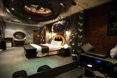 Batman Hotel Room At Eden Motel In Taiwan 1