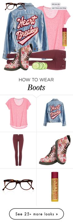"""""""sorry rtd"""" by fandombreather on Polyvore featuring High Heels Suicide, Paige Denim, T.U.K., Cutler and Gross and Burt's Bees"""