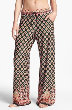 Nanette Lepore 'Moroccan Medallion' Beach Pants available at #Nordstrom