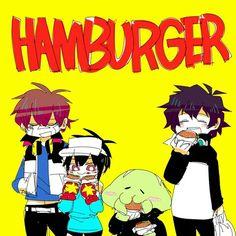 Hamburgers! |Hamatora X Kekkai Sensen |
