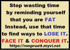 Face it. Conquer it. Join the Challenge now! ronpruett.com