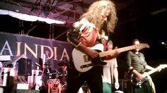 Fry Moneti Guitar solo: I giorni della crisi  Suona con una Bedini Custom Guitars