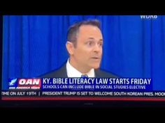 """""""The Year of the Bible"""" -Bill to bring 'Bible literacy' to Ky schools"""