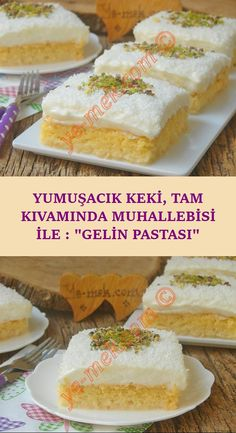 İsmini bembeyaz oluşundan alan, yumuşacık keki ve üzerinde nefis bir kremas. A dessert recipe that takes its name from its being white, with a soft cake and a delicious cream on it . Oreo Desserts, Dessert Cake Recipes, Chocolate Desserts, No Bake Desserts, Easy Desserts, Delicious Desserts, Baking Recipes, Cookie Recipes, Cupcakes